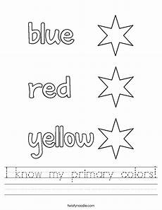 primary colors printable worksheets 12993 i my primary colors worksheet twisty noodle