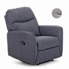 poltrone relax poltrona relax in tessuto schienale reclinabile e
