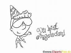 Malvorlage Einladung Geburtstag Einladen Malvorlage Zum Geburtstag