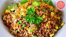 How To Cook Buckwheat Vegetable Stir Fry Russian Food