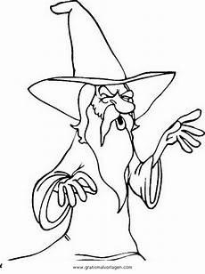 Zauberer Malvorlagen Tiere Merlin 1 Gratis Malvorlage In Fantasie Zauberer Ausmalen