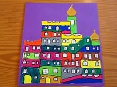 Malvorlage Hundertwasser Haus Klassenkunst Kunst Und K 252 Nstler