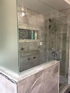Bathroom Ideas With Shower by My Finished Bathroom In A Small Space Replaced The Tub