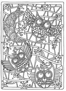 Malvorlagen Gratis Owl Coloring Pages For Adults Free Detailed Owl Coloring