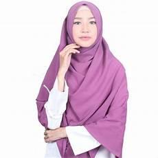 Jilbab Pashmina Syari Instan Voal Motif