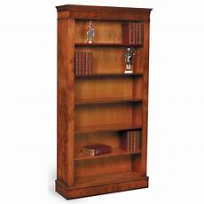 burr elm open tall bookcase bookcases cabinets