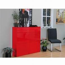 Schuhschrank Rot Hochglanz - besonderer schuhschrank glas oder mit glasfront