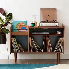 meuble platine vinyle vintage rangement disques vinyle des solutions d 233 co joli place