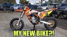 ktm sxf 450 ktm 450 sxf test ride my new 2017 bike