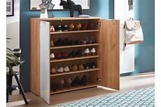 meuble rangement chaussures bois et verre blanc 20 paires