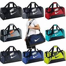 nike brasilia 6 xs small medium large duffel gym bag navy black grey gray duffle ebay