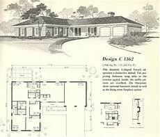 vintage ranch house plans vintage house plans 1960s homes mid century homes