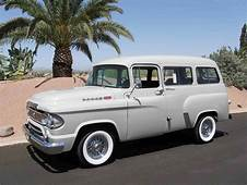 1960 Dodge Town Wagon  Old Trucks