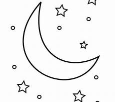 moon coloring pages at getcolorings free