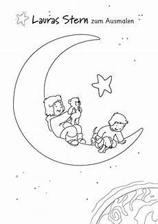 Malvorlage Lauras Malvorlagen Sterne Ausdrucken
