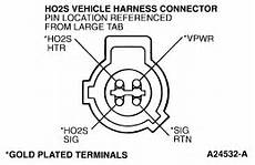 ford oxygen sensor wire diagram whats the proper wiring on 1996 ford o2 sensor the sensor