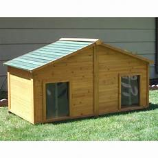 duplex dog house plans have to have it simply cedar duplex dog house with