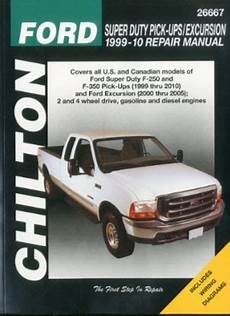 chilton car manuals free download 1999 dodge ram van 3500 engine control ford super duty pick ups excursion chilton repair manual 1999 2010 hay26667