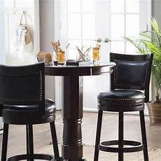 Boraam 3 Florence Sunburst Pedestal Pub Table Set