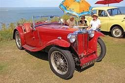 MG Open Top Sports Car Editorial Photo Image Of Rally