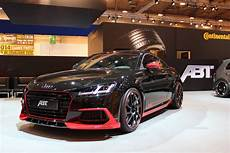 New Audi Tt Earns Its Abt Tuning Stripes Carscoops