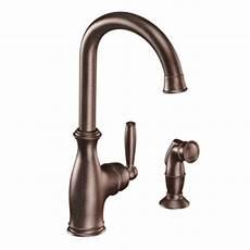 menards moen kitchen faucets moen brantford single handle high arc kitchen faucet at