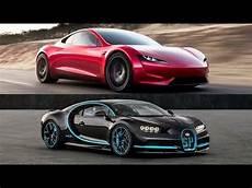 2019 tesla roadster torque 2020 tesla roadster vs 2018 bugatti chiron top speed