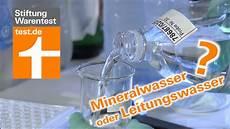 stiftung warentest mineralwasser leitungswasser mineralwasser im vergleich test stiftung