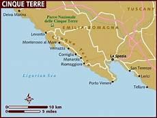 Cinque Terre Karte -