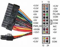 Atx 24 Pin Power Supply Connector With 20 Pin Board Visa