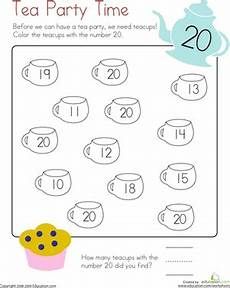 counting numbers to 20 worksheets 8045 number 20 coloring page worksheet education