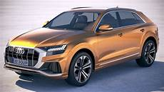 3d audi q8 2019 model turbosquid 1311542