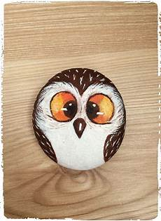 Owl Painted Rock Painted Rocks Owls Owl Painting