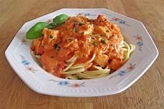 Lachs Mit Sahnesauce - spaghetti mit lachs sahne so 223 e der koch im haus chefkoch