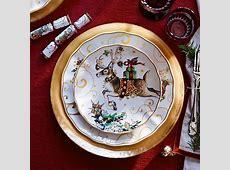 Twas the Night Before Christmas Dinner Plates, Santa   ~55