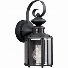 progress lighting motion sensor 1 light outdoor wall lantern reviews wayfair