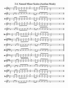 what are the minor scales a trumpet quora
