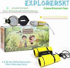 Amazon Com Set Of 6 Bug Explorer Magnifying Outdoor Explorer Kit Bug Catcher Set With Binoculars