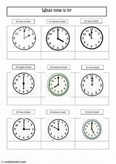 telling the time online exercise you can do the exercises online or download the worksheet as pdf