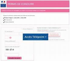 releve d information integral telepoint consulter solde de points du permis legipermis