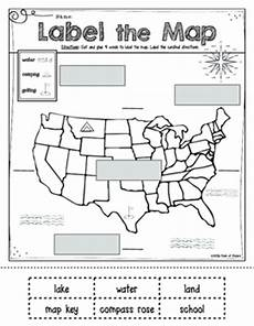 mapping label it first grade and kindergarten social studies tpt