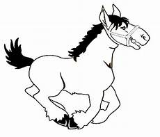 Malvorlage Pferd Comic Lustiges Pferd Malvorlage Im Comic Stil