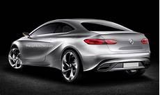 2019 Mercedes A Class Coupe Rendering Shows Future Audi Tt