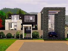 sims 3 modern house plans unique modern sims 3 house plans new home plans design