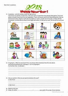 new year esl worksheets 19324 new year s resolution worksheet free esl printable worksheets made by teachers