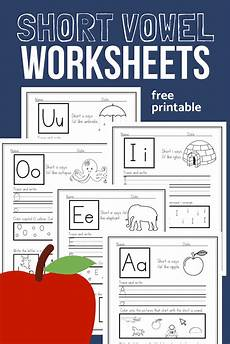 free worksheets pronouns 18678 vowel worksheets sle pack for cvc phonics practice the homeschool resource room
