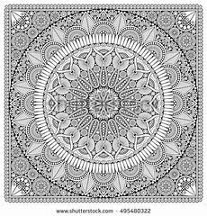 mandala coloring pages hd 17924 flower mandala vintage decorative elements pattern vector illustration islam
