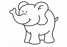 Malvorlage Kleiner Elefant Elefanten Ausmalbilder 18 Ausmalbilder