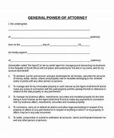simple power of attorney template clergy coalition