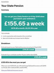 is national insurance a pension you checked your state pension forecast